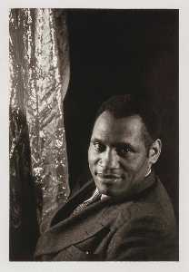 Carl Van Vechten - Paul Robeson, from the portfolio O Write My Name American Portraits, Harlem Heroes