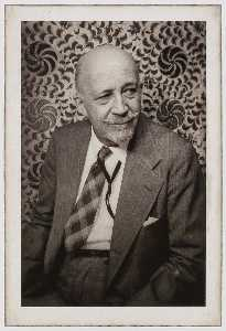 Carl Van Vechten - W.E.B. DuBois, from the portfolio O Write My Name American Portraits, Harlem Heroes