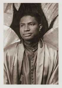 Carl Van Vechten - Ossie Davis, from the portfolio O Write My Name American Portraits, Harlem Heroes
