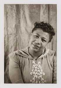Carl Van Vechten - Ella Fitzgerald, from the portfolio O Write My Name American Portraits, Harlem Heroes