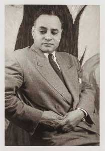 Carl Van Vechten - Ralph Bunche, from the portfolio O Write My Name American Portraits, Harlem Heroes