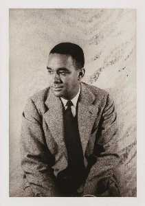 Carl Van Vechten - Richard Wright, from the portfolio O Write My Name American Portraits, Harlem Heroes