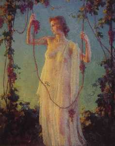 Charles Courtney Curran - Fall Sunshine