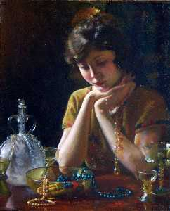 Charles Courtney Curran - Heirlooms