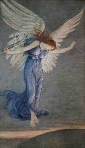 Walter Crane - The Angel of Peace