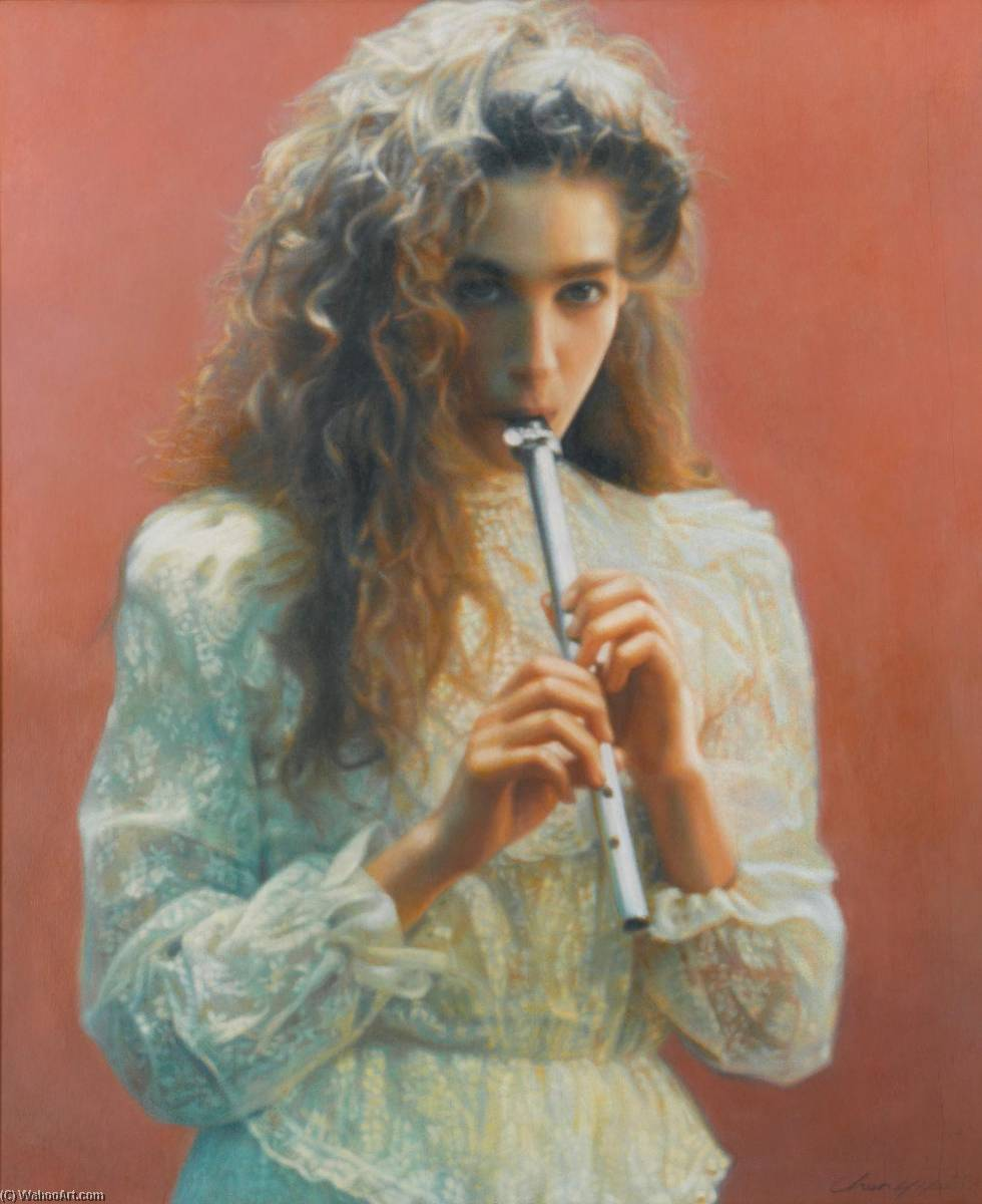 Young Talent by Chen Yifei (1946-2005) |  | WahooArt.com