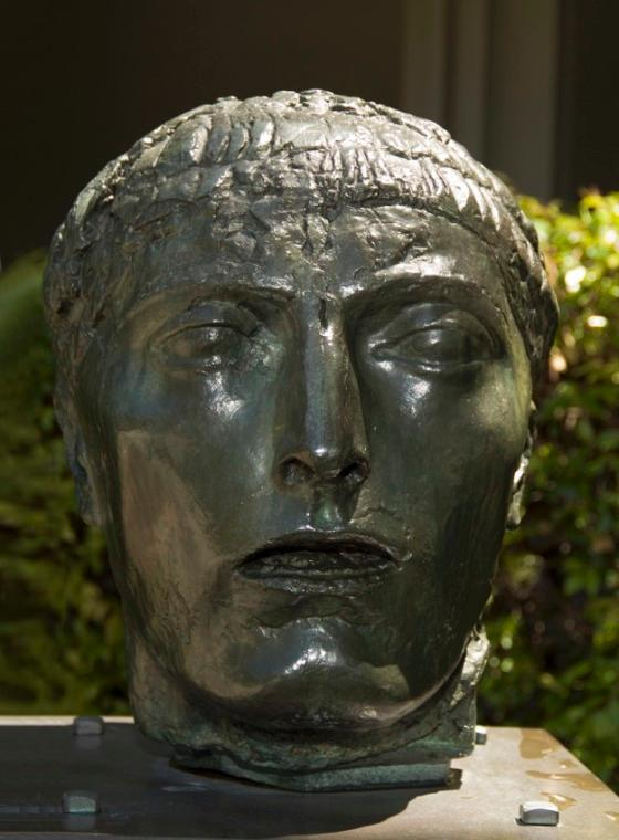 Head of the Figure of Eloquence, Sculpture Bronze by Émile Antoine Bourdelle (1861-1929)