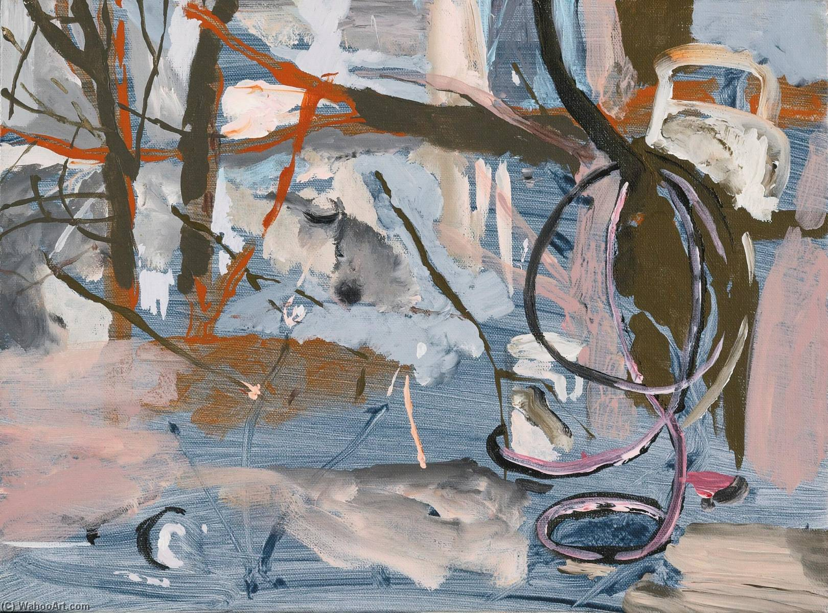 Untitled, Oil On Canvas by Cecily Brown