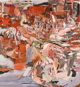 Cecily Brown - Lady with a Little Dog