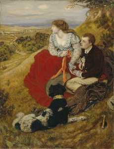 Ford Madox Brown - Byron's Dream