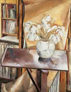 Paul Nash - Still Life with Bog Cotton
