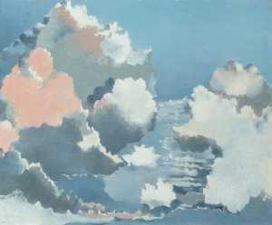 Paul Nash - Cloudscape (recto)