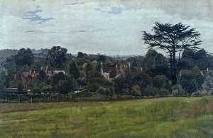 Stanley Spencer - Pound Field, Cookham