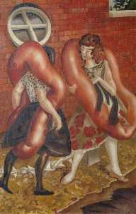 Stanley Spencer - Girls Returning from a Bathe