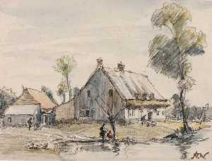 Herman Armour Webster - La Mare aux Canards, Flanders