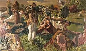 Stanley Spencer - By the River