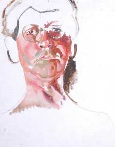 Stanley Spencer - Self Portrait Sketch