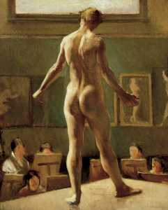 Edward Alexander Wadsworth - Male Figure Standing