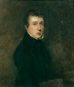 William Beechey - Alfred Stannard (1806–1889), Aged 19