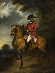William Beechey - George III (1738–1820), on Horseback