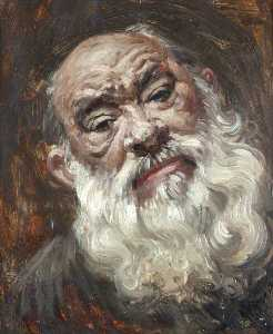 Augustus Edwin John - Head of an Old Man