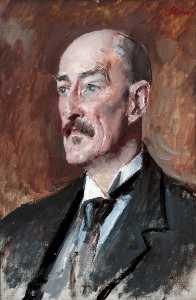 Augustus Edwin John - Professor Oliver Elton (1861–1945), Professor of English Literature, University of Liverpool (1900–1925)