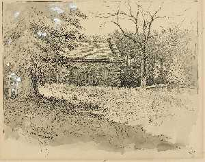 Ernest Clifford Peixotto - Princeton Quaker Meeting House