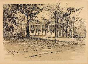Ernest Clifford Peixotto - Saratoga. General Schuyler's House