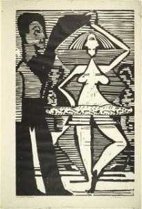 Ernst Ludwig Kirchner - Dancing Couple (Tanzpaar)