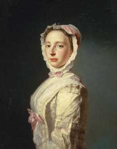 Allan Ramsay - Anne Bayne (d.1743), Wife of the Artist Allan Ramsay