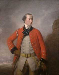 Allan Ramsay - Captain Sir William Peer Williams, Bt, of the 16th Light Dragoons