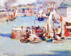 William Blair Bruce - Honfleur Harbor