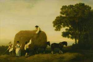 George Stubbs - The Haymakers