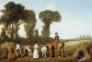 George Stubbs - The Reapers