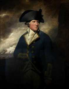 Henry Raeburn Dobson - Portrait of a Captain, RN