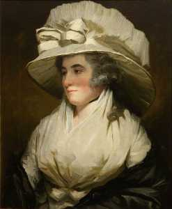 Order Reproductions | Sarah, Wife of Sir John Forbes, Daughter of John, 13th Lord Sempill, 1788 by Henry Raeburn Dobson | WahooArt.com