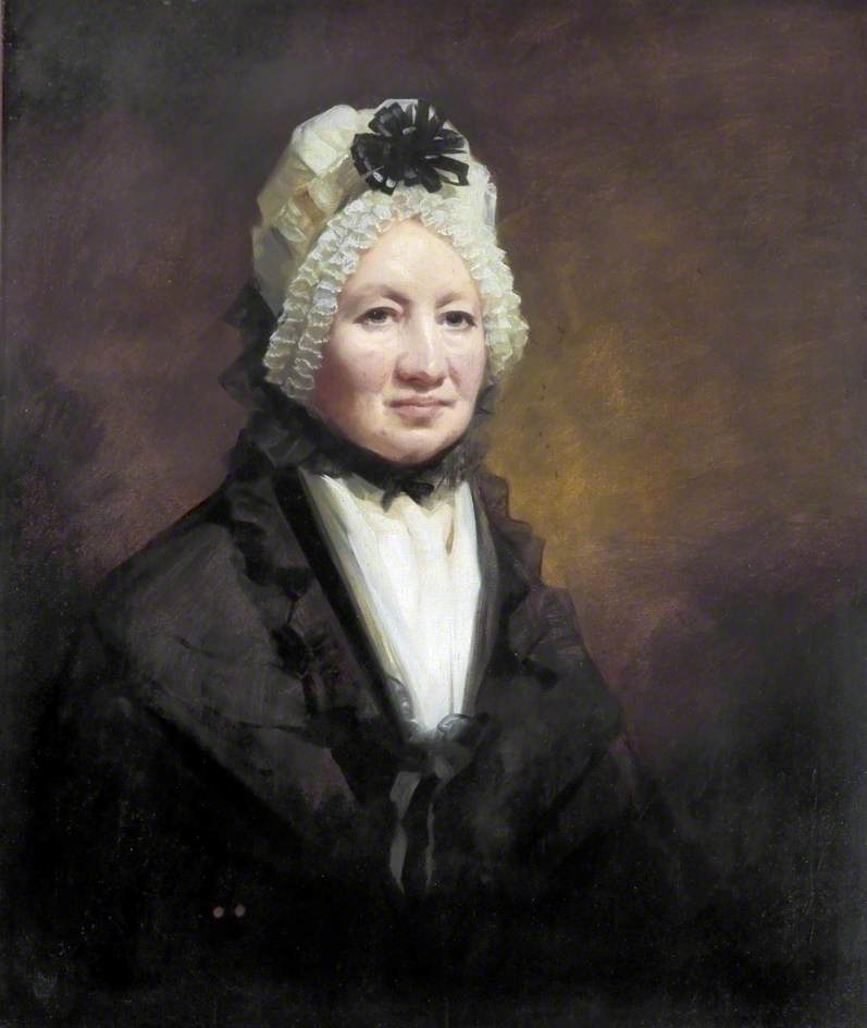 Mrs Ann Graham (b.c.1748), 1810 by Henry Raeburn Dobson | Painting Copy | WahooArt.com