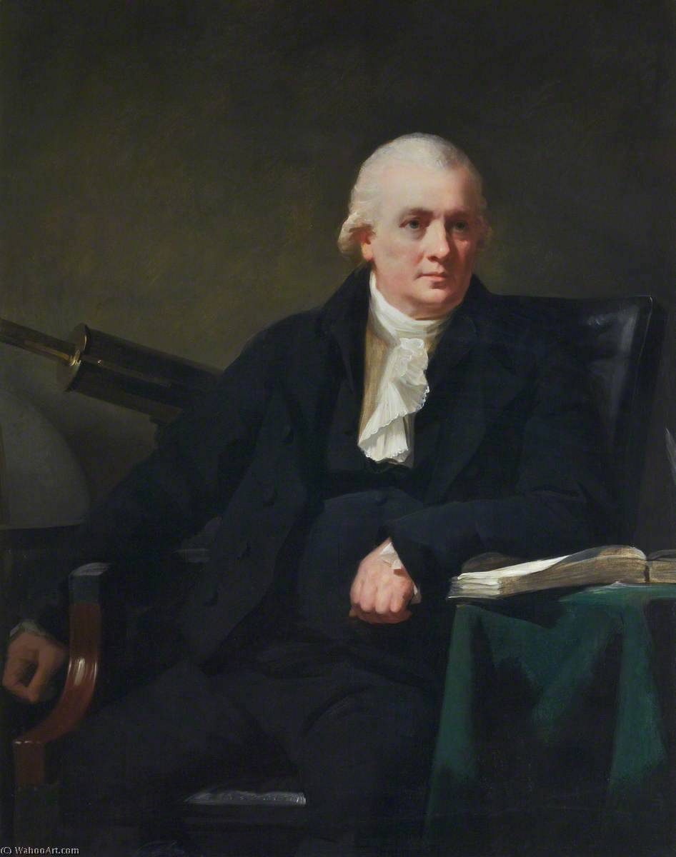 Order Reproductions | John Robison (1739–1805), FRSE, 1798 by Henry Raeburn (1756-1823, United Kingdom) | WahooArt.com
