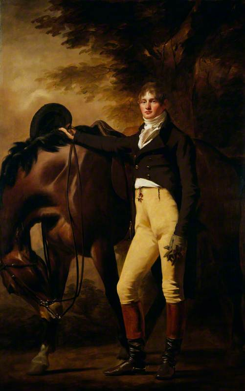 Professor John Wilson (1785–1854), Author and Moral Philosopher (Nom de Plume Christopher North), 1810 by Henry Raeburn (1756-1823, United Kingdom) | Famous Paintings Reproductions | WahooArt.com