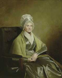 Henry Raeburn Dobson - Mrs John Brown of Lanfine and Waterhaughs