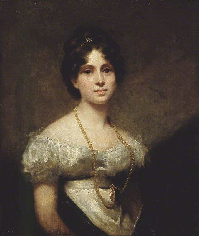 Lady Abercromby, 1816 by Henry Raeburn Dobson | Reproductions Henry Raeburn Dobson | WahooArt.com