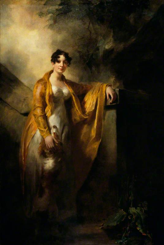 Justina Camilla Wynne (1785–1814), Mrs Alexander Finlay of Glencorse, 1810 by Henry Raeburn Dobson | Museum Quality Reproductions | WahooArt.com