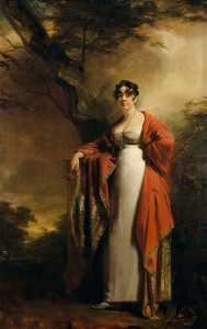 Henry Raeburn Dobson - Frances Harriet Wynne (1786–1860), Mrs Hamilton of Kames