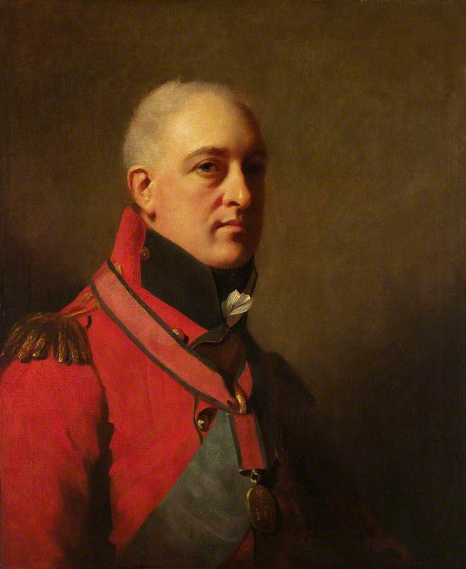 Lieutenant General Sir John Hope (1765–1836), 1806 by Henry Raeburn Dobson | Oil Painting | WahooArt.com