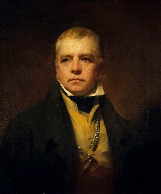 Sir Walter Scott (1771–1832), Novelist and Poet, 1822 by Henry Raeburn Dobson | Museum Quality Reproductions | WahooArt.com
