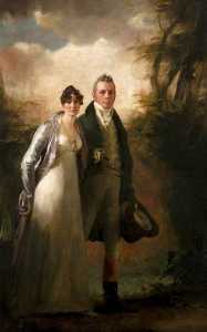 Henry Raeburn Dobson - Mr and Mrs Robert N. Campbell of Kailzie