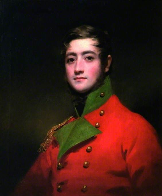 Lieutenant Alexander Graham Spiers (b.1793), 1814 by Henry Raeburn (1756-1823, United Kingdom) | Famous Paintings Reproductions | WahooArt.com