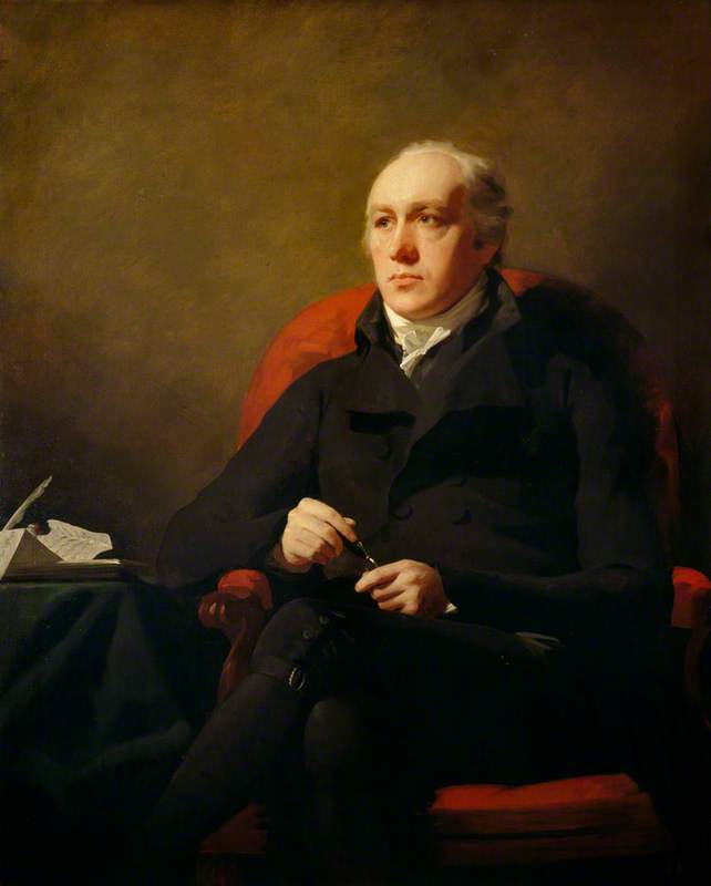 Charles Hope (1763–1851), Lord Granton, Lord President of the Court of Session, 1804 by Henry Raeburn (1756-1823, United Kingdom) | Famous Paintings Reproductions | WahooArt.com