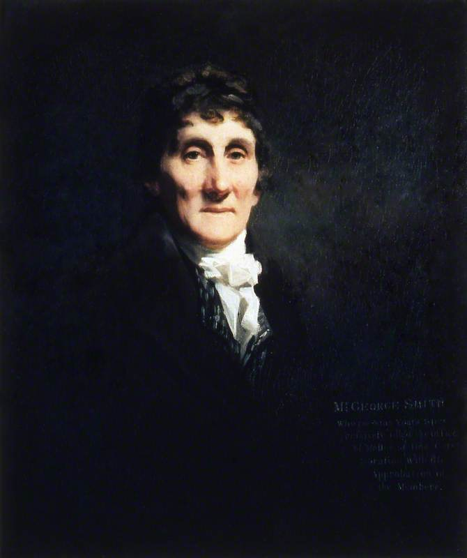 Mr George Smith, Master of Trinity House (1796–1805), 1807 by Henry Raeburn Dobson | Museum Quality Reproductions | WahooArt.com