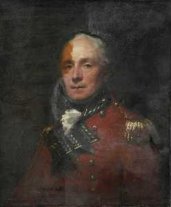 Henry Raeburn - Major William Cunningham, Madras European Infantry